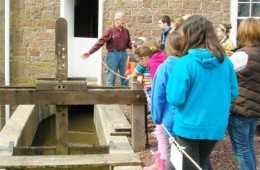 School Groups Learn About Simple Machinery at the Bowmansville Roller Mill