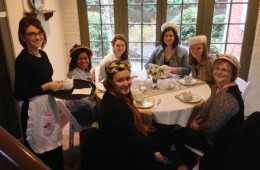 March 14 & 15, 2015, Downton Abbey Teas