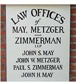 May, Metzger, Zimmerman law firm cropped 2