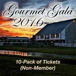 10-Pack Tickets, $800 for Non-Members