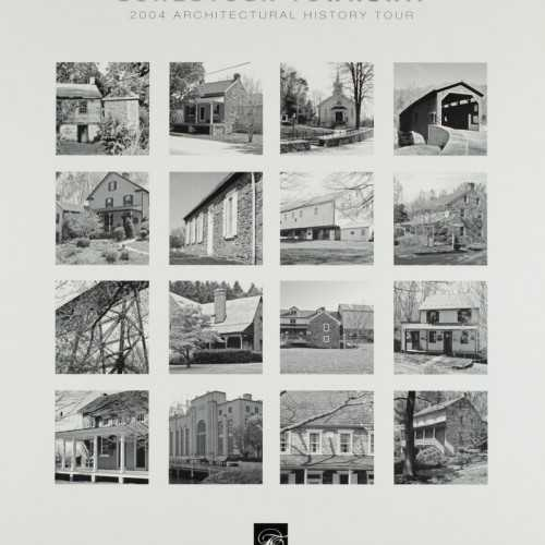 Historic Conestoga Township 2004 Architectural History Tour Poster